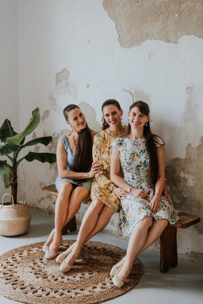 Lippai Andrea, Pirók Zsófia és Horányi-Pirók Panka táncművészek a Duna TV Család-Barát magazinműsorában